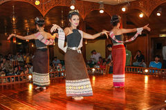 Thai traditional dances Royalty Free Stock Images