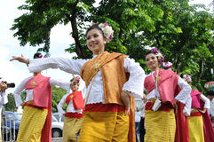 Thai Traditional Dancing Royalty Free Stock Images