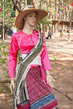 Thai traditional design dress Royalty Free Stock Image