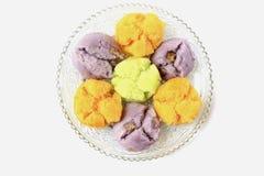 Thai Traditional Dessert Royalty Free Stock Photos