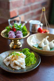 Thai traditional dessert. Stock Photo