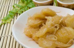 Thai traditional dessert Royalty Free Stock Image