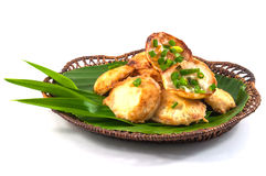 Thai traditional dessert. Takoyaki named mortar toasted pastry Royalty Free Stock Photos