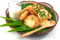 Thai traditional dessert. Takoyaki named mortar toasted pastry Royalty Free Stock Photography