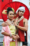Thai Traditional Dress Stock Photo