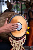 Thai traditional drum. Royalty Free Stock Photography