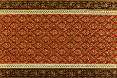 Thai Traditional  Fabric Royalty Free Stock Photos
