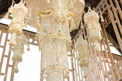 Garland chandelier Thai Style Stock Images