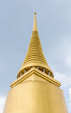 Thai traditional golden pagoda Royalty Free Stock Photography