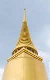 Thai traditional golden pagoda Royalty Free Stock Photography
