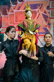 Thai traditional grand puppet Royalty Free Stock Photo