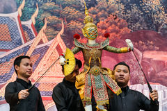 Thai traditional grand puppet Royalty Free Stock Image