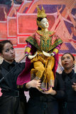 Thai traditional grand puppet Stock Photo