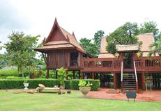 Thai traditional House stock photography