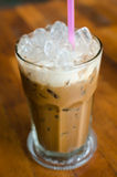 Thai traditional iced coffee  Royalty Free Stock Photo
