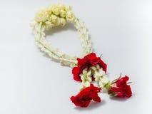 Thai traditional jasmine garland Stock Photography