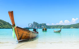 Thai Traditional longtail boat Royalty Free Stock Image