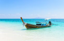 Thai Traditional longtail boat Royalty Free Stock Images