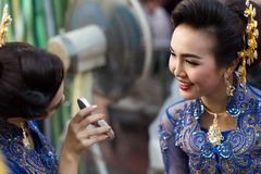 bd8e0c7c Thai traditional makeup editorial stock image. Image of attractive -  53156679