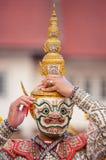 Thai traditional mask Khon Stock Image