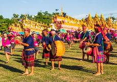 Thai traditional  musician Royalty Free Stock Photography