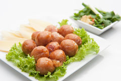 Thai traditional sausages Stock Photography
