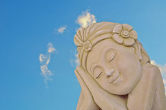Thai traditional statue Royalty Free Stock Photo
