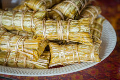 Thai traditional sticky rice Royalty Free Stock Images