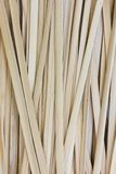 Thai traditional strips of bamboo using for weaving Stock Image