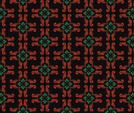 Thai traditional style art pattern Royalty Free Stock Images