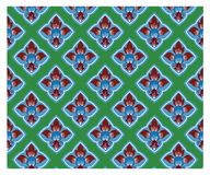 Thai traditional style art pattern Stock Image