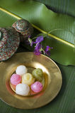 Thai traditional sweet Royalty Free Stock Photo