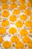 Thai traditional sweets Ja-Mongkut. Closeup Thai traditional sweets Ja-Mongkut with gold decorated Stock Photography
