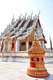 Thai traditional temple style Royalty Free Stock Photo