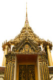 Thai traditional temple. Style image Royalty Free Stock Photo