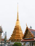 Thai traditional temple style Royalty Free Stock Photography