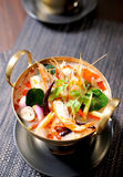 Thai traditional tom yam soup Royalty Free Stock Image