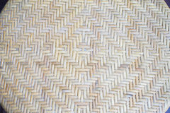 Thai traditional weaved mat Royalty Free Stock Photography