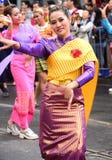 Thai traditionell thailändsk chut Arkivbilder