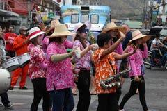 thai traditionellt för dans Arkivbilder