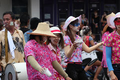 thai traditionellt för dans Royaltyfri Fotografi