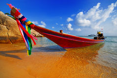 thai traditionellt för fartyg Royaltyfri Fotografi