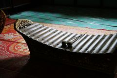 thai traditionellt för instrument Arkivfoto