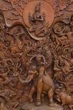 thai traditionellt för konst Arkivfoto