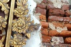 thai traditionellt för konststil Arkivbild