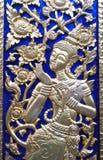 thai traditionellt för målningsstil arkivfoto