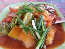 thai traditionellt för mat Royaltyfri Foto