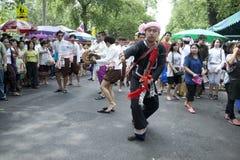 thai traditionellt för dans Arkivfoto