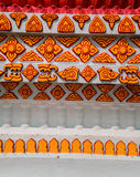thai traditionellt för konstmodellstil Arkivfoton