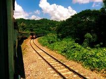 Thai train Stock Photo